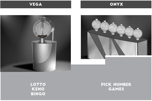 WinTV Essencio lotto drawing machines