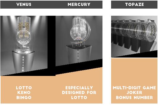 WinTV Ultimate Venus, Mercury, Topaze drawing machines