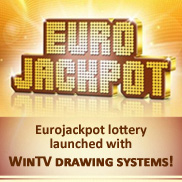 WinTV official provider of the lottery drawing machines for EuroJackpot