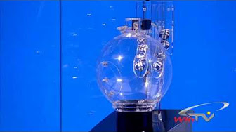 Opale lottery drawing machine for live draw tv show